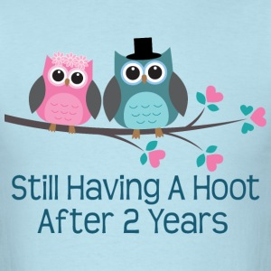 2nd Anniversary Fun Gift T-Shirts - Men's T-Shirt