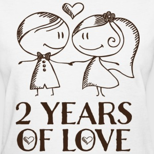 2nd Anniversary Gift Cute T-Shirts - Women's T-Shirt