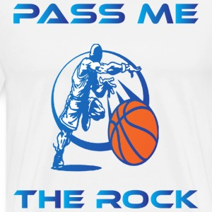 Pass Me The Rock white t shirt - Men's Premium T-Shirt