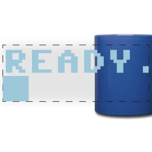 READY COMPUTER PROMPT Mugs & Drinkware - Full Color Panoramic Mug
