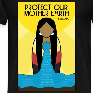 Water is Life #NoDAPL - Men's Premium T-Shirt