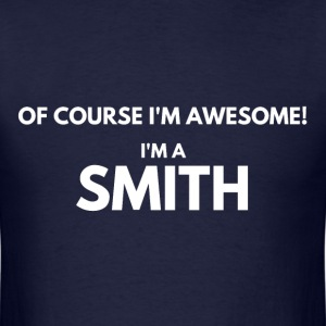 SMITH WHITE T-Shirts - Men's T-Shirt