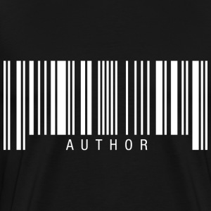 Author Barcode T-Shirts - Men's Premium T-Shirt