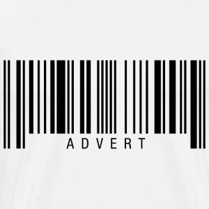 Advert Barcode T-Shirts - Men's Premium T-Shirt