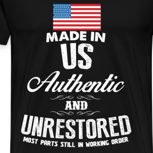 USA - Made in US most parts still in working order - Men's Premium T-Shirt