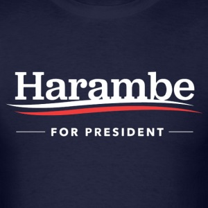 Harambe For President 2016 T-shirt - Men's T-Shirt