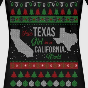 Texas girl - Christmas sweater for Texas girl - Women's Premium T-Shirt