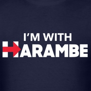 I'm With Harambe T-shirt - Men's T-Shirt