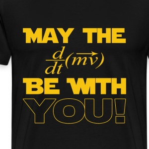 Math - May the math be with you awesome tee - Men's Premium T-Shirt