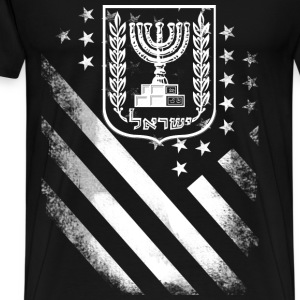 Proud to be american jewish - Men's Premium T-Shirt
