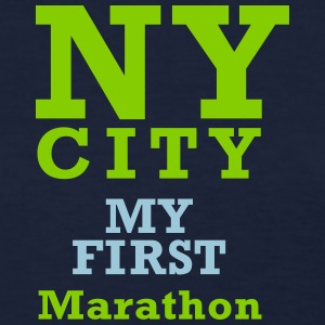 First Marathon - Women's T-Shirt