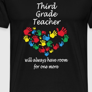 Third grade teacher - Have room for one more - Men's Premium T-Shirt