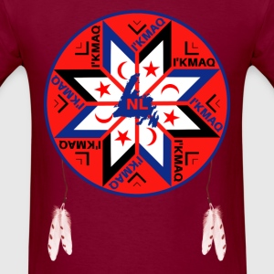 Mi'kmaq Tripartite Symbol - Men's T-Shirt