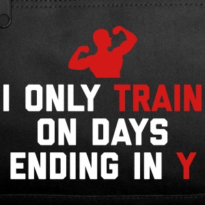 Train Days Ending Y Gym Quote Sportswear - Duffel Bag