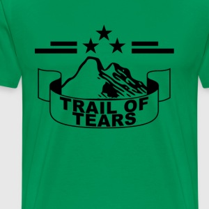 trail_of_tears_tshirt_ - Men's Premium T-Shirt