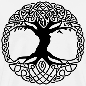 Celtic Tree Of Life - Men's Premium T-Shirt
