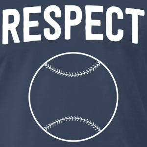 Baseball. Respect T-Shirts - Men's Premium T-Shirt