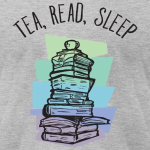 Tea, Read, Sleep T-Shirts - Men's T-Shirt by American Apparel