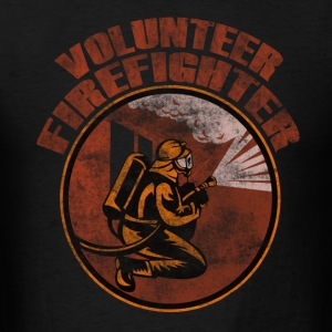 Volunteer firefighter - Men's T-Shirt