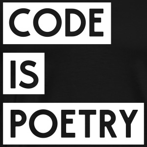 Code is Poetry T-Shirts - Men's Premium T-Shirt