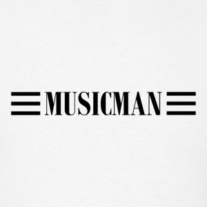 musicman black - Men's T-Shirt