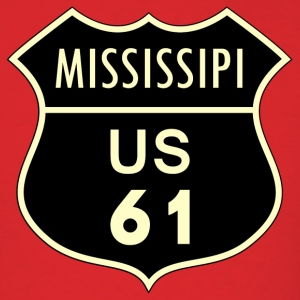 Mississippi us 61 - Men's T-Shirt