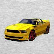 Design ~ Saleen Mustang Men Tank