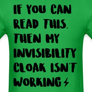Invisibility Cloak Tee - Men's T-Shirt