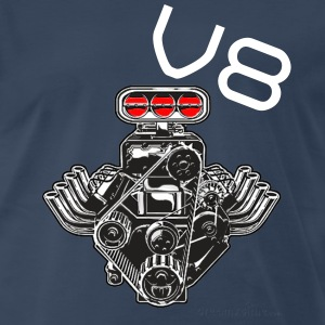V8 Engine - Men's Premium T-Shirt