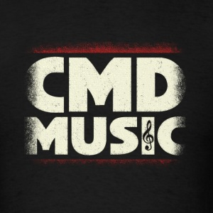 cmd music - Men's T-Shirt