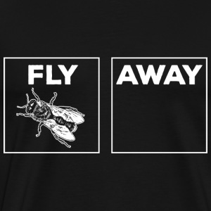 Fly Away white T-Shirts - Men's Premium T-Shirt