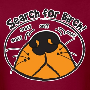 Nosework - Search for Birch T-Shirts - Men's T-Shirt