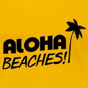Aloha Beaches T-Shirts - Women's Premium T-Shirt