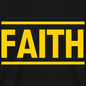 Faith T-Shirts - Men's Premium T-Shirt