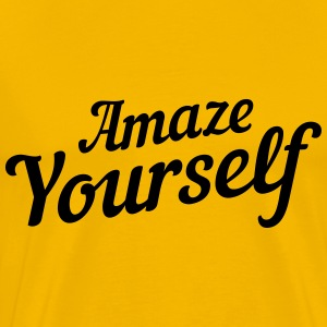 Amaze yourself T-Shirts - Men's Premium T-Shirt