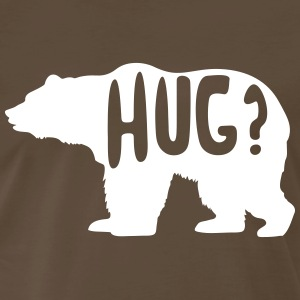 Bear Hug? T-Shirts - Men's Premium T-Shirt