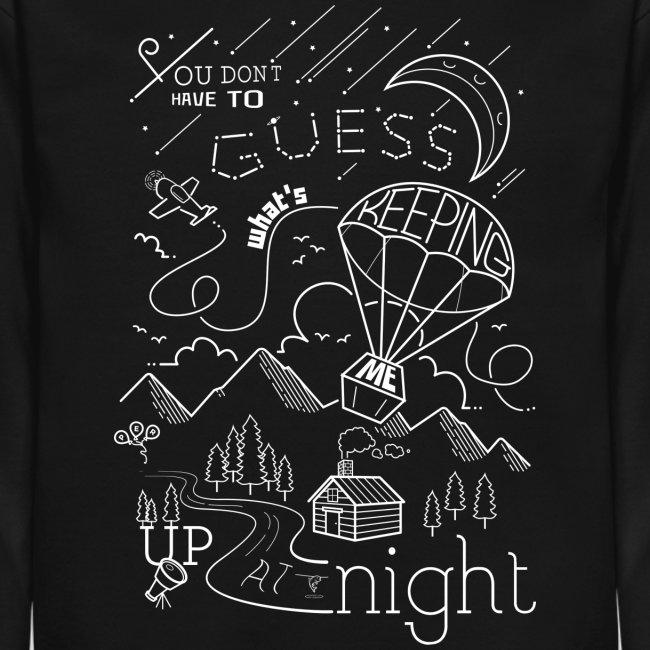 Up At Night Graphic Crewneck