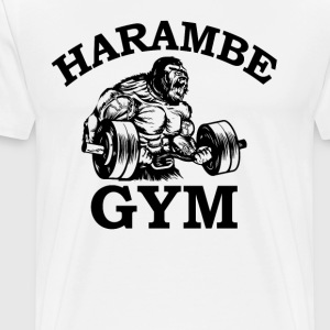 Harmbee Gym T-Shirts - Men's Premium T-Shirt