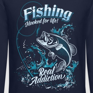 Fishing Long Sleeve Shirts - Crewneck Sweatshirt