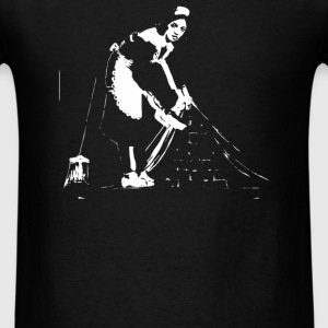 Banksy Cleaner - Men's T-Shirt