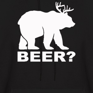 Bear Deer BEER - Men's Hoodie