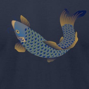 Fish T-Shirts - Men's T-Shirt by American Apparel