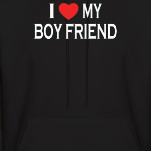 I LOVE MY BOY FRIEND - Men's Hoodie