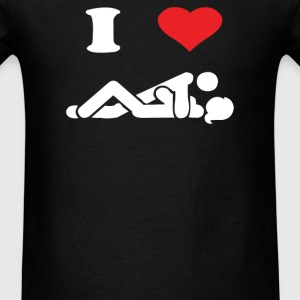 I LOVE SEX - Men's T-Shirt