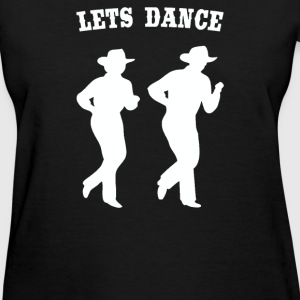 LINE DANCING country music - Women's T-Shirt