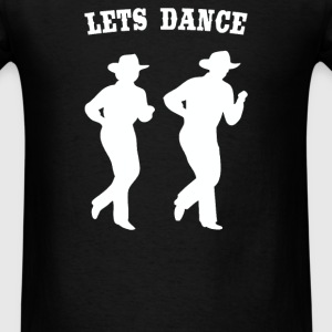LINE DANCING country music - Men's T-Shirt