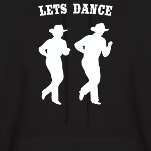 LINE DANCING country music - Men's Hoodie