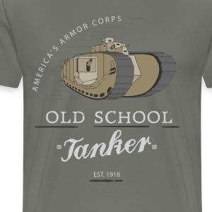 Old School Tanker - Men's Premium T-Shirt