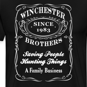 winchester brothers - supernatural - Men's Premium T-Shirt
