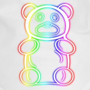 neon Rainbow Gummy Bear - Dog Bandana